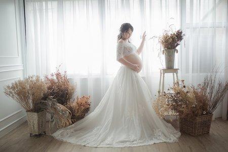 巴黎婚紗攝影C&L 孕婦婚紗照