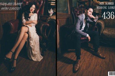 巴黎婚紗攝影K&L