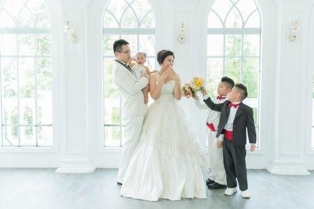 巴黎婚紗攝影親子全家福