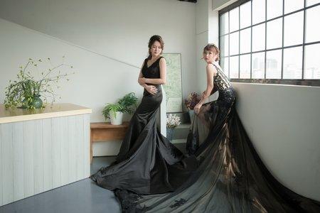 巴黎婚紗攝影 閨蜜照