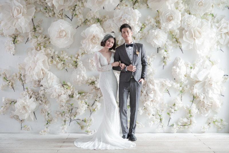 網路限定-輕婚紗方案作品