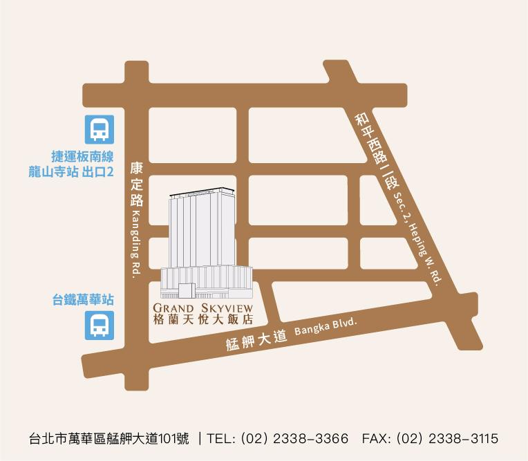 map 拷貝-02 - 格蘭天悅大飯店 - 結婚吧一站式婚禮服務平台