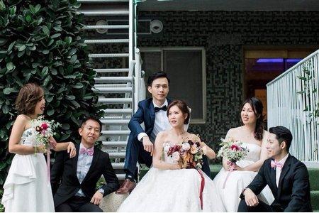 台北國賓池畔婚紗照