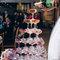 婚宴會館-香檳塔