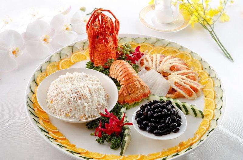 龍蝦沙律&日本黑豆&烤烏魚子 三拼