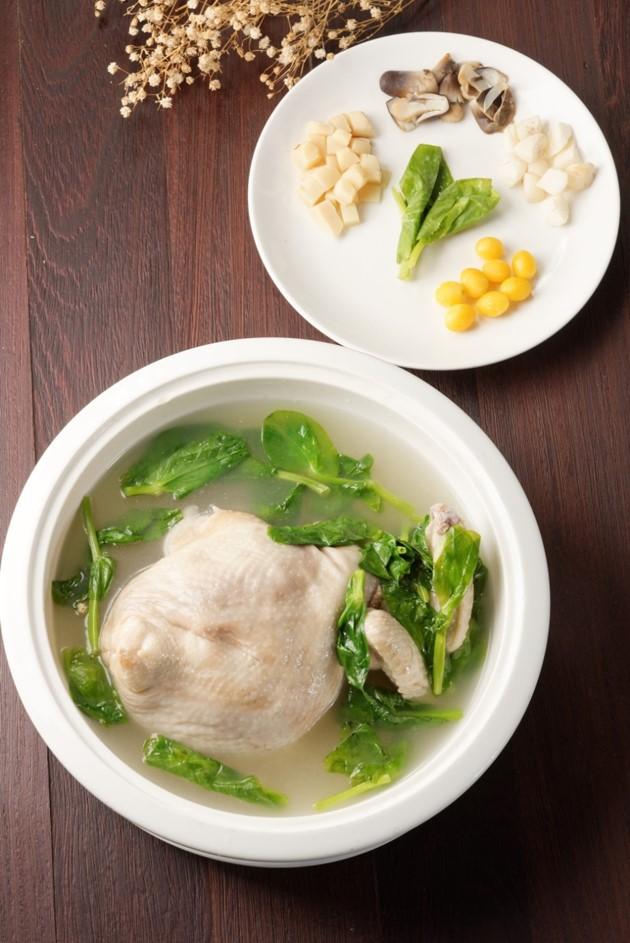 清燉富貴雞