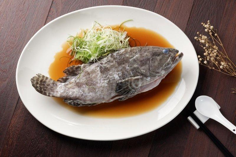清蒸深海魚
