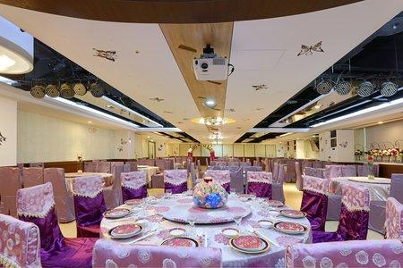 凱撒廳(最多容納32桌)