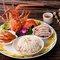 沙拉龍蝦拼盤