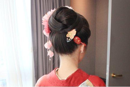 新竹新秘Miki~ 和服造型 新娘作品