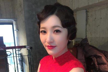 新竹新娘秘書Miki~仙氣十足的新娘造型作品