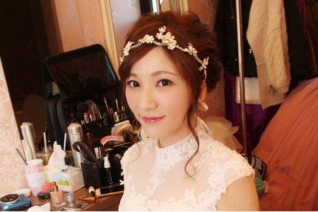 新竹新娘秘書Miki~甜美韓風新娘造型