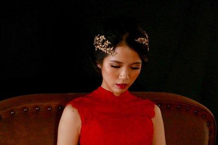 新竹新娘秘書Miki~復古風新娘造型
