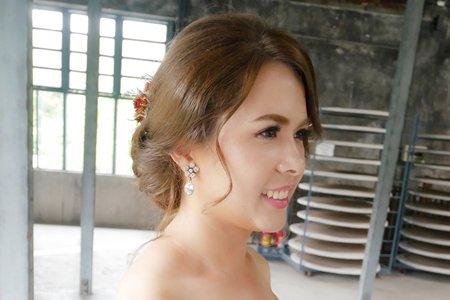 新娘秘書Miki~浪漫風乾燥花盤髮