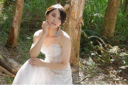 新竹新娘秘書Miki~韓風長髮新娘造型