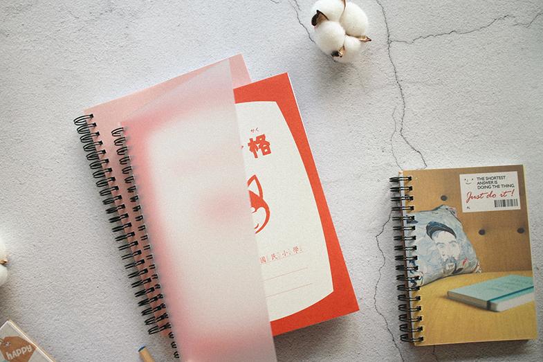 客製 線圈照片筆記本-A5筆記本作品