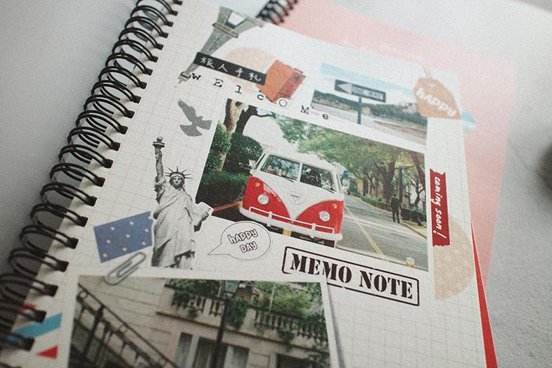 客製  線圈照片筆記本- A6 口袋本作品