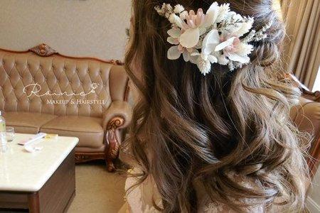嘉義新秘Rainie -婚宴髮型