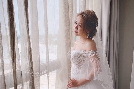 嘉義新秘Rainie | 白紗造型