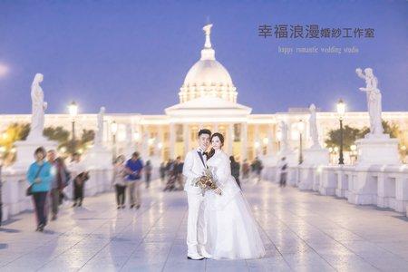 台中幸福浪漫婚紗工作室  奇美博物館婚紗攝影系列   韓式婚紗攝影  自主婚紗  海外旅拍