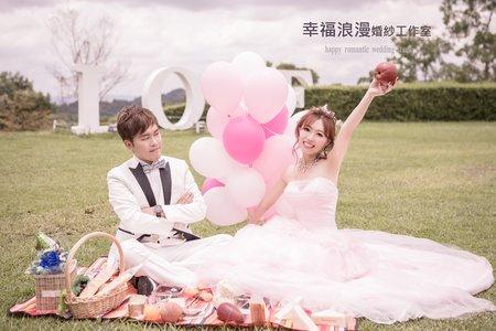 幸福浪漫婚紗工作室 野餐婚紗攝影風   小清新婚紗 韓式婚紗