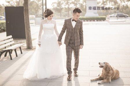 幸福浪漫婚紗工作室  毛小孩婚紗攝影  韓式婚紗攝影 小清新婚紗 日本沖繩自助婚紗   婚禮攝影   自助婚紗