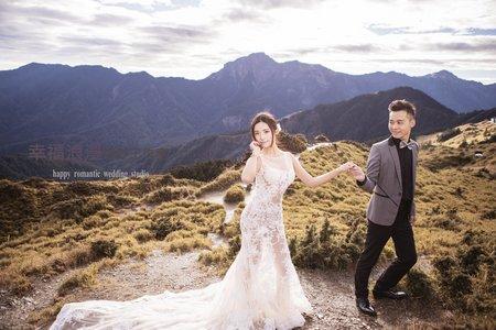 合歡山 武嶺婚紗攝影 幸福浪漫婚紗工作室  高山婚紗風格  韓式婚紗攝影   自主婚紗