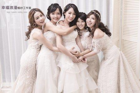 幸福浪漫婚紗工作室  閨密寫真   婚紗攝影   自主婚紗
