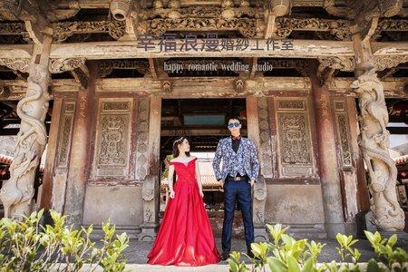 幸福浪漫婚紗工作室  廟宇復古婚紗攝影  自主婚紗  韓式婚紗攝影  婚紗攝影