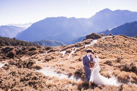 幸福浪漫婚紗工作室 英國新郎 彰化美女新娘  老英格蘭 合歡山  韓式婚紗攝影  小清新婚紗照