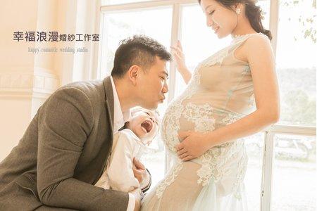 孕婦照  幸福浪漫婚紗工作室  藝術照  情境孕婦照  情境寫真照