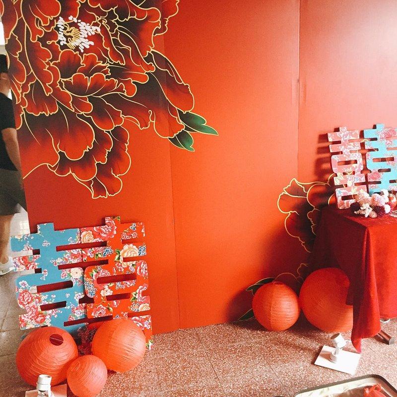 氣派中式中國風方盒喜糖 婚禮小物作品