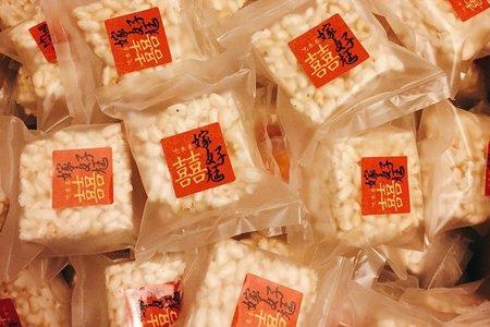 中國風爆米香婚禮小物(桌上禮/送客禮)