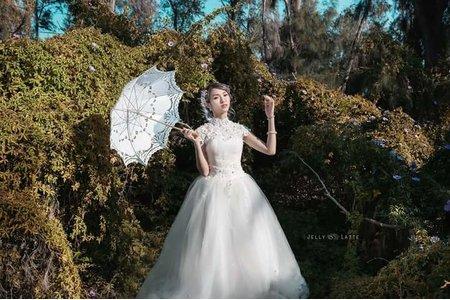 外拍婚紗作品