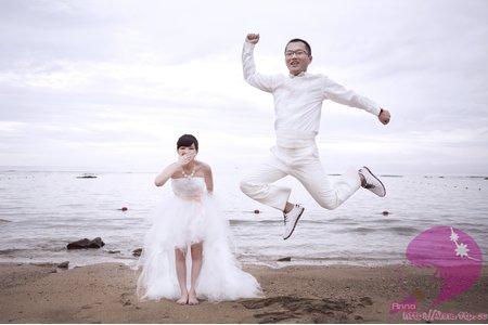阿志&絲絲婚紗