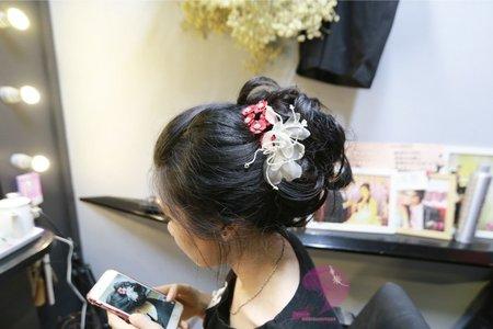 *2017-10-15 越南新娘試單妝+髮*
