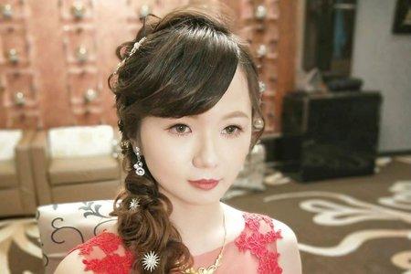 💟仙女級新娘~蓉蓉訂婚整體造型💟