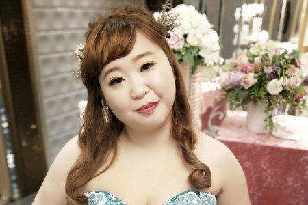 💟土城-俐彣💟新娘妝髮