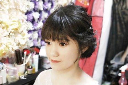 🌸水晶花頭飾🌸彩妝造型