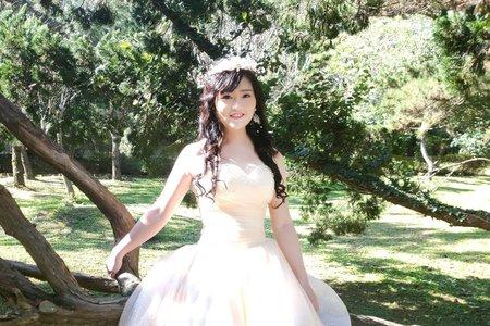 💟婚紗外拍彩妝造型💟
