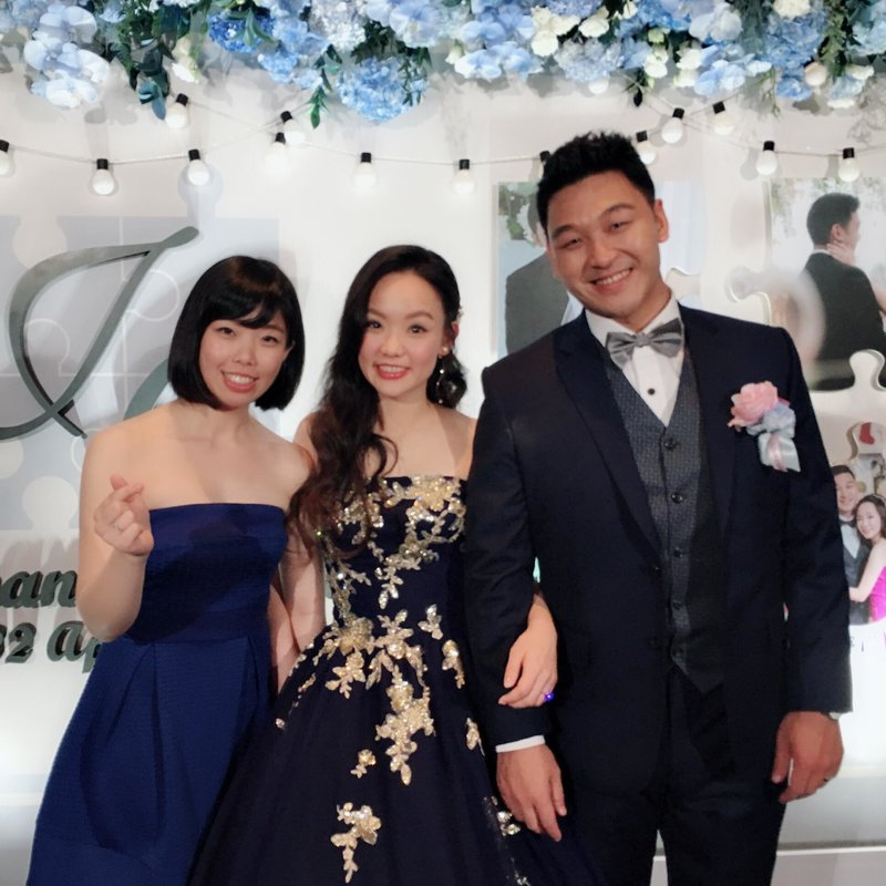 婚禮企劃+主持(含場控人員一名)作品