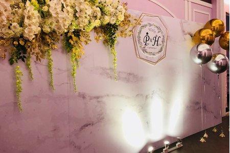 ilove婚禮佈置 客製背板