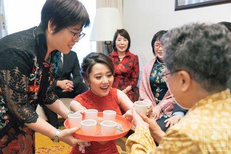 筱媛+大偉 訂結儀式|台北圓山飯店