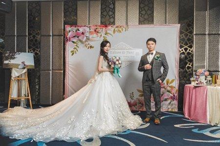 Wedding / Edison & Yuni / 彭園婚宴會館-台北館