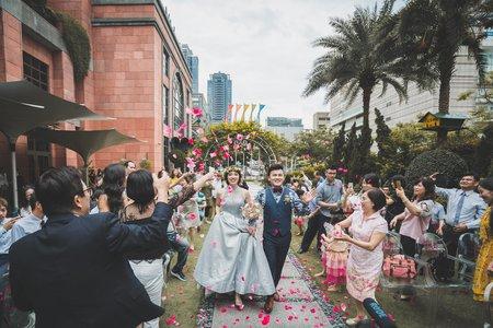 花園證婚/維多麗亞酒店/文定證婚午宴
