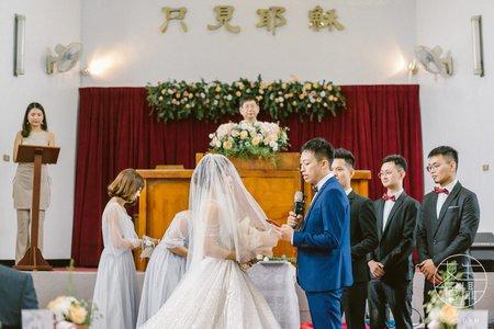 八德彭園|教堂婚禮|溫馨感動