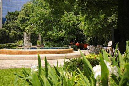 台中林皇宮花園