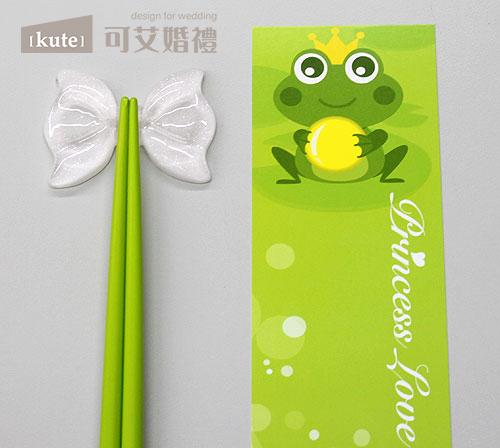 公主筷架 - 青蛙王子 $76