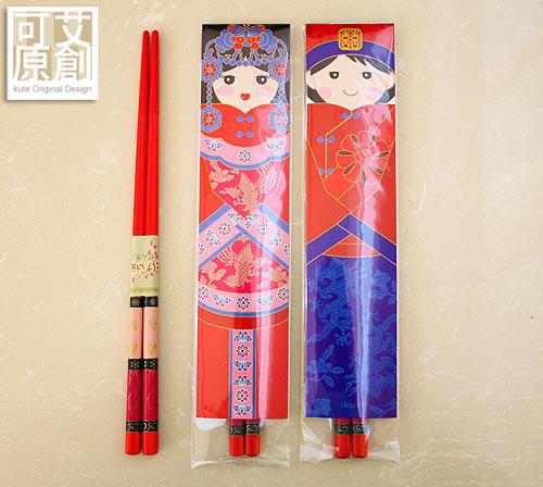 龍鳳呈祥 祝福筷 $39