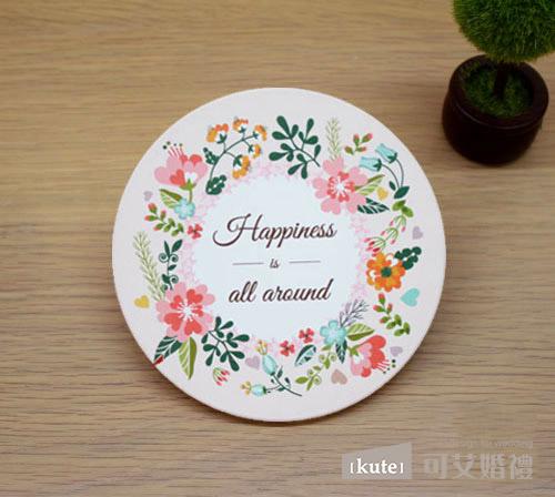 幸福花園 吸水杯墊